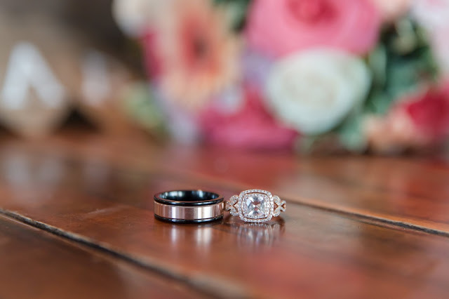 Shenandoah Mill Wedding Bride and Groom Wedding Rings