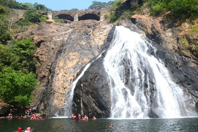 Visit Majestic Dudhsagar Waterfalls