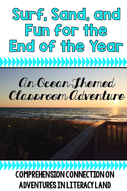 Summer is not far off, and to help you enjoy these last few weeks with your students, how about an Ocean Themed Adventure! Check out this post for ocean themed ideas, activities, and a freebie.