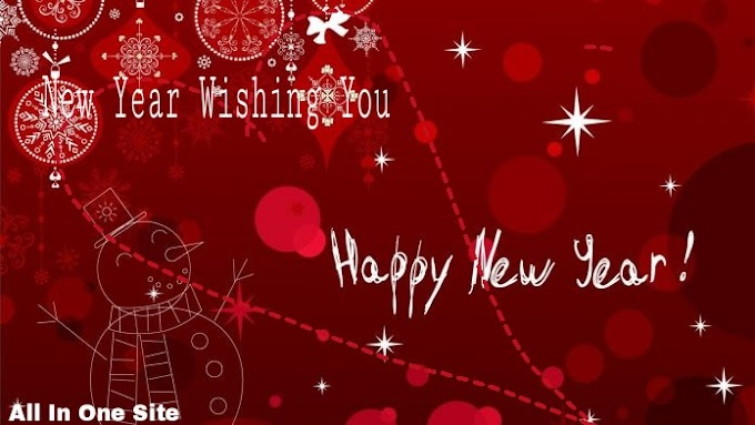 Happy New Year Wishing SMS in Hindi, English.