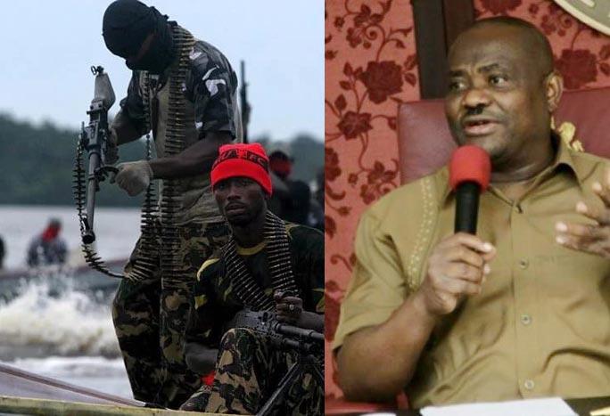 Wike begs Niger Delta Avengers: Please stop bombing pipelines