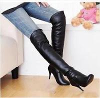 Womens knee high boots