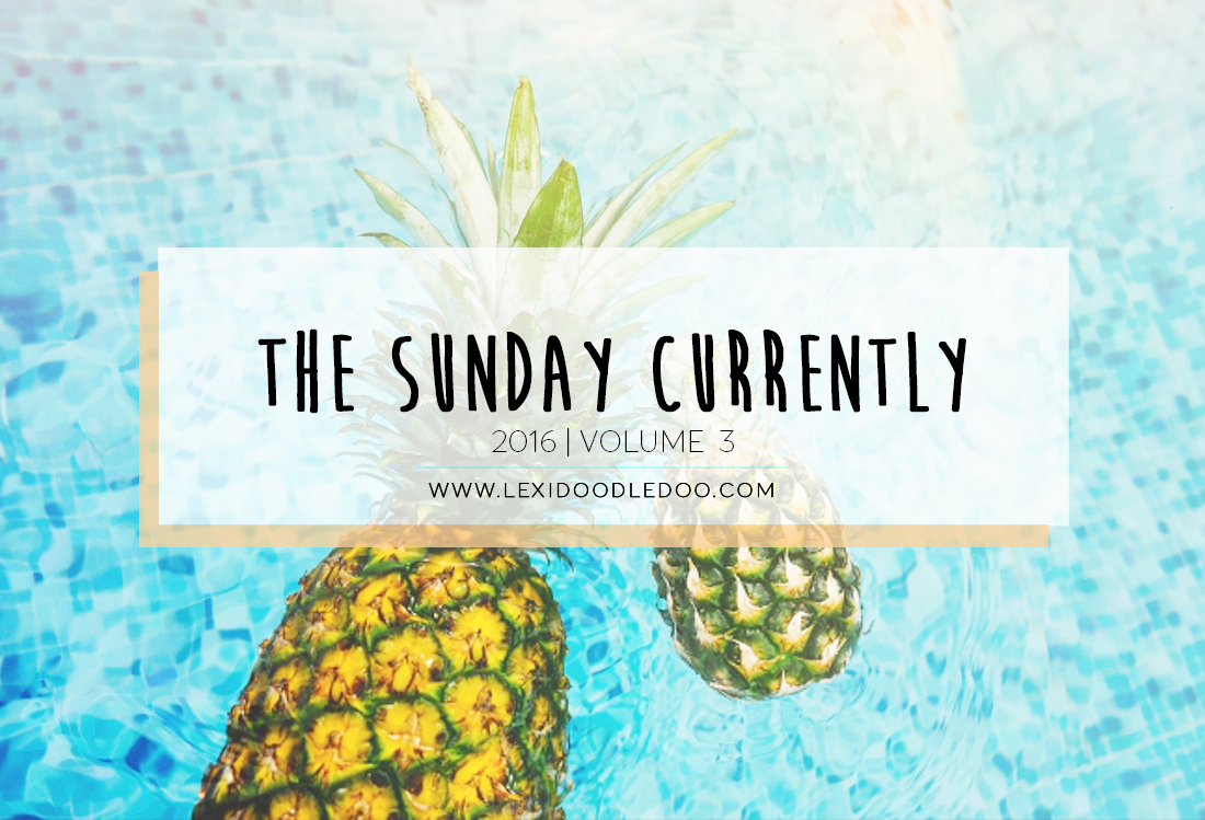 The Sunday Currently Vol. 3 | Series | Tick Tock It's Locked