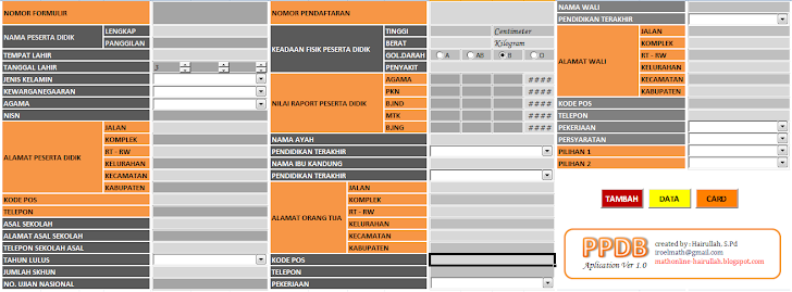 Aplikasi PSB Vesi 2 : Aplikasi Penerimaan Siswa Baru (PSB) Jenjang SMK