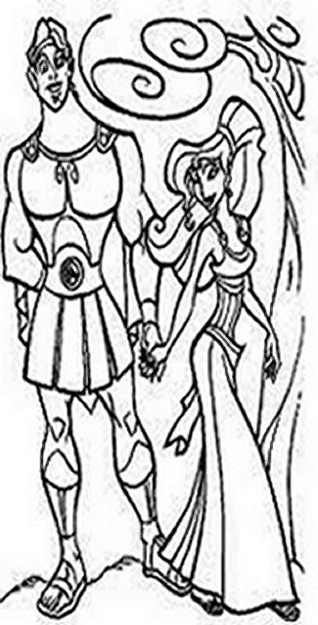 Fun Coloring Pages Hercules Coloring Pages