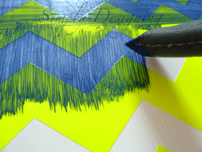 Chevron Paint Design