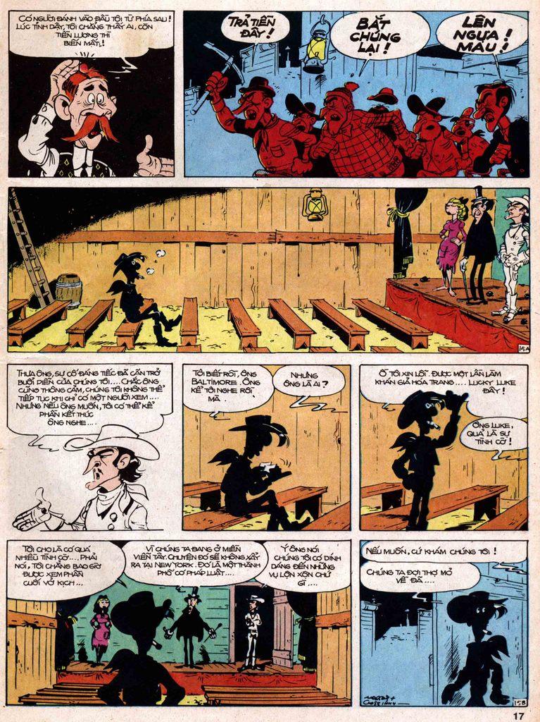 Lucky Luke tap 18 - ki si ao trang trang 15