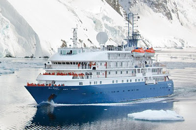 Poseidon Expedition's Chartered Sea Spirit - fresh from $2.5 Million dollar refit