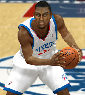 NBA 2K13 Thaddeus Young Cyber Face Patch Download