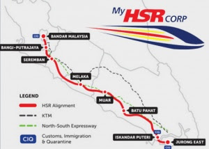 Info on HSR on display for public at six locations in N. Sembilan