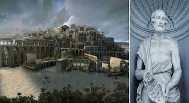 Θεόφραστος περί της μυθικής Ατλαντίδος