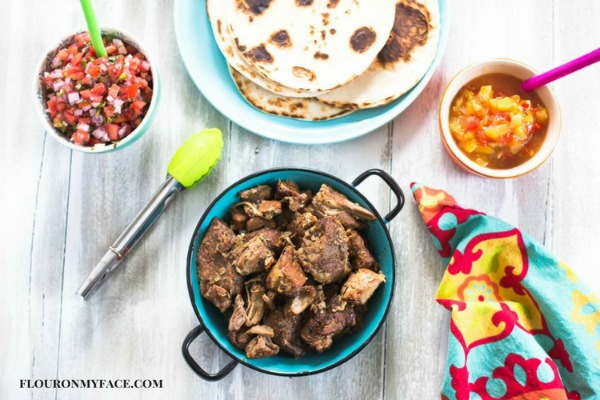 Mexican Crock Pot Carnitas Recipe from Flour on My Face