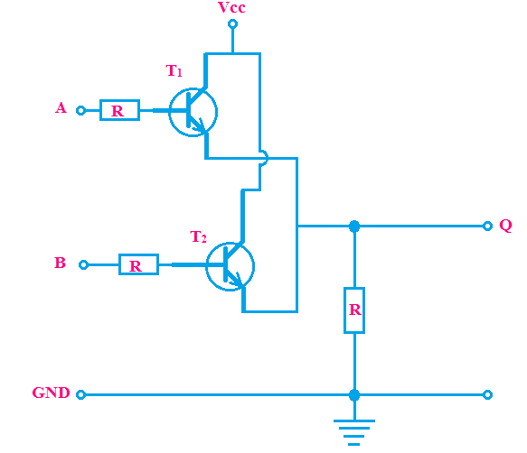 Design of Logic OR Gate using Transistors