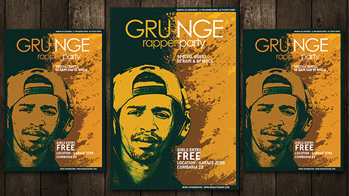 Easy And Simple Make Grunge Style Poster In Photoshop