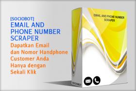 Email & Phone Number Scraper