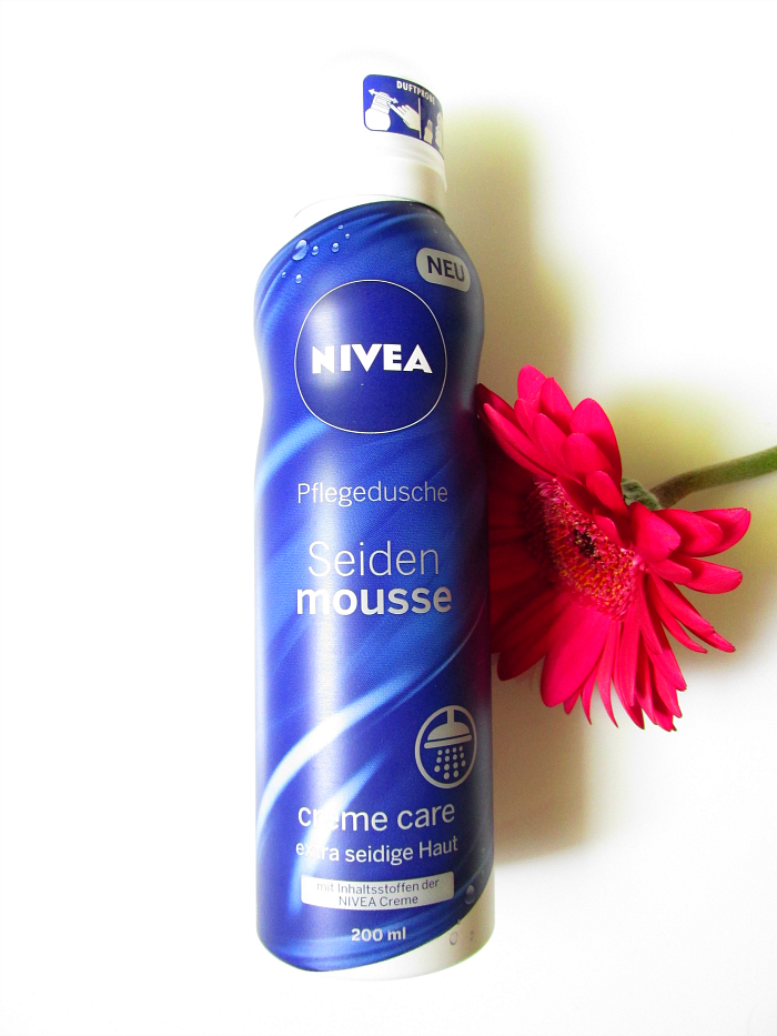 Beauty favoriten Juni - Nivea - Seiden Mousse Pflegedusche - 200ml - 2.49 €