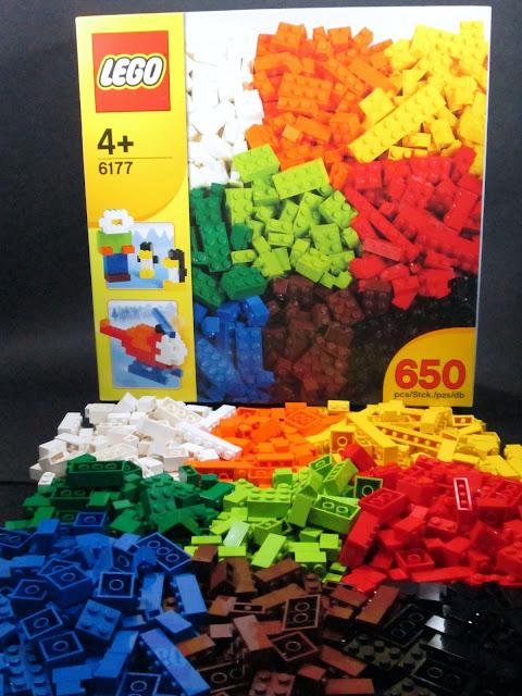 Set LEGO 6177 Basic Bricks Deluxe