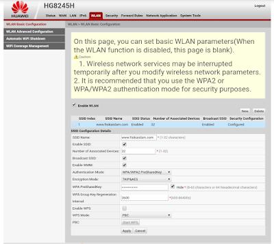 cara agar password wifi indihome tidak bisa dibobol
