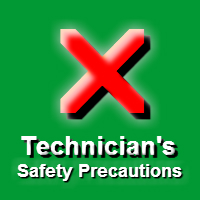 NC2 Technician Safety Precautions