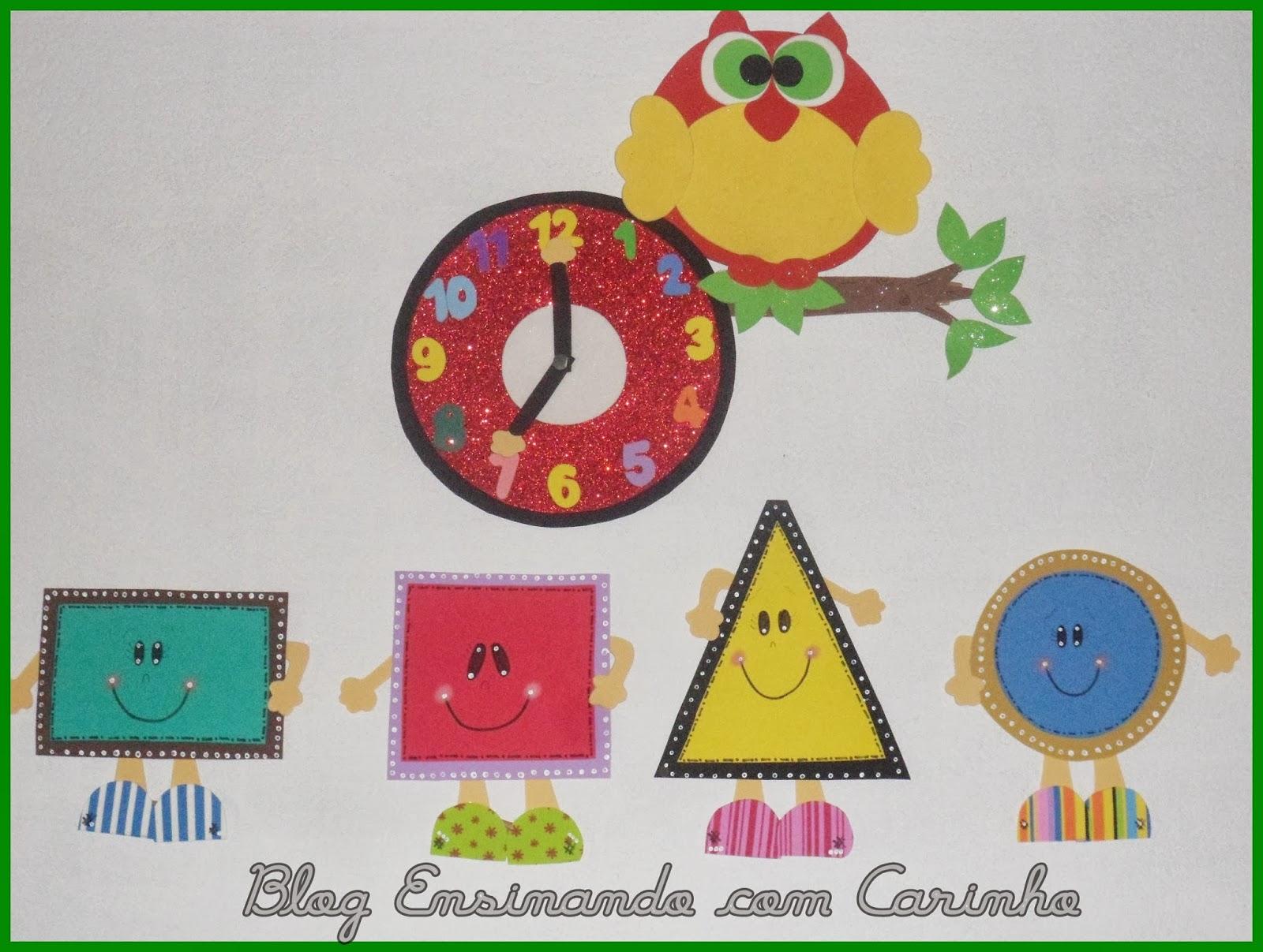 Formas Geometricas De Eva Com Moldes Ensinando Com Carinho