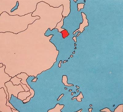 Gambar Peta Buta Korea Selatan