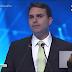 Flávio Bolsonaro defende porte de arma e livre concorrência em debate na Band