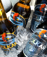 Valkan beer from Santorini