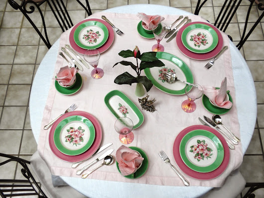 Greenbrier Resort China Tablescape