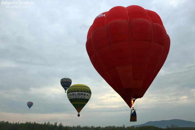 Balon, Balony, lot balonem, Wielka fiesta balonowa