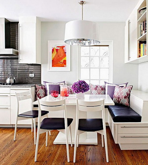 Kitchens With Dining Area Layouts In Small Spaces 5