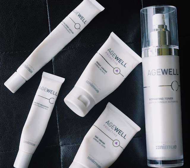 AGEWELL PROACTIVE SKINCARE RANGE REVIEW