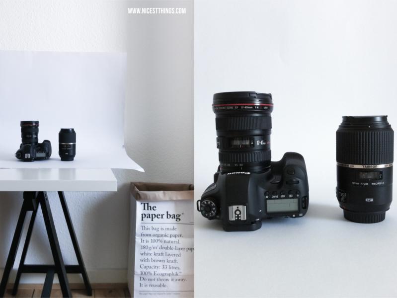 Vollformatkamera Canon EOS 6D und Objektive Tamron 90mm f/2.8