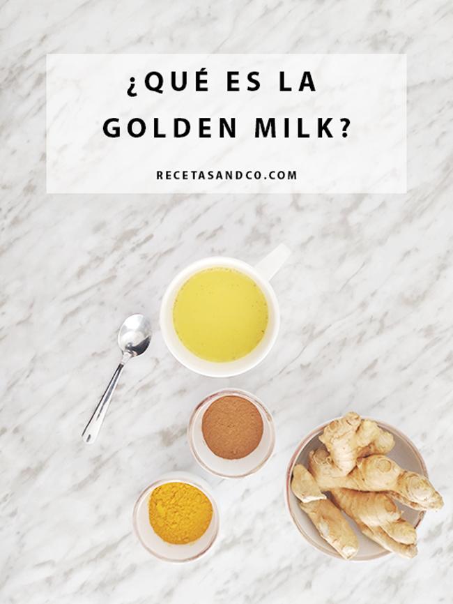 Golden Milk Receta