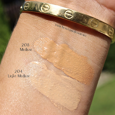 amore pacific age correcting foundation swatches