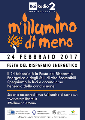 M'illumino di Meno 2017 - ecodellecologia.it