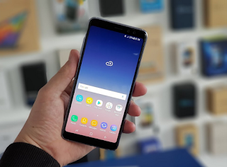Cara Mengambil screenshot Samsung Galaxy A8 Star terbaru