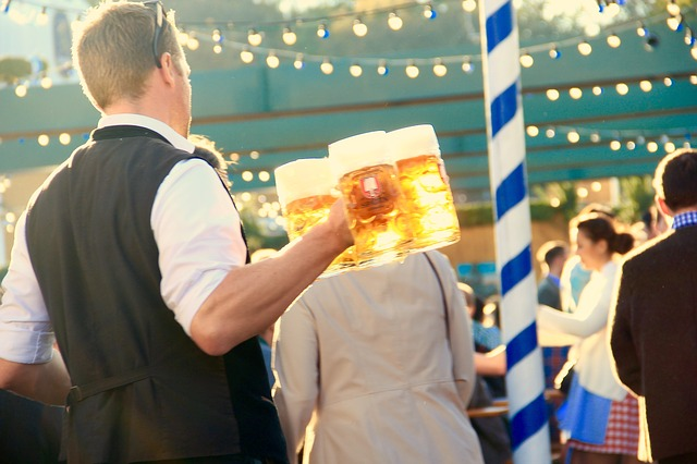 You can't have Oktoberfest without German beer!