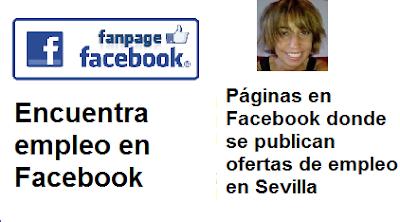 Páginas en Facebook Sevilla, Andalucía,  donde se publican ofertas en empleo