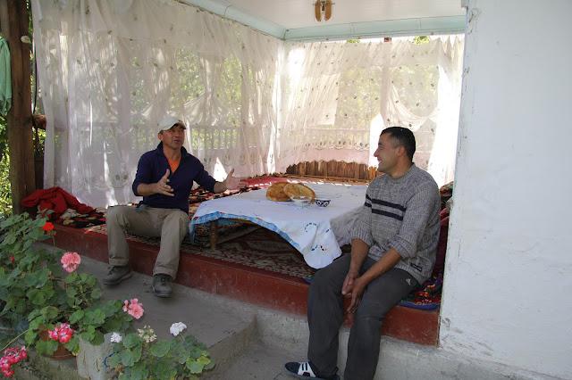 Kirghizistan, Arslanbob, tapchane, tapshan, Hayat, Salahiddin, © L. Gigout, 2012