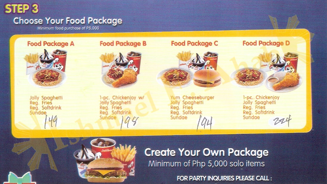 The Pinoy Informer: Jollibee Birthday Party Package ...