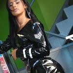 Andrea Rincon, Selena Spice Galeria 5 : Vestido De Latex Negro Foto 111