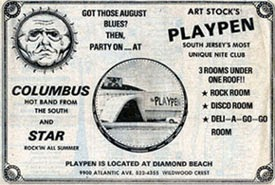 Playpen club Diamond Beach south New Jersey