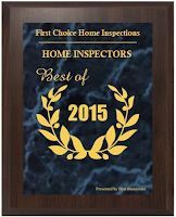 best business 2015 award for home inspections