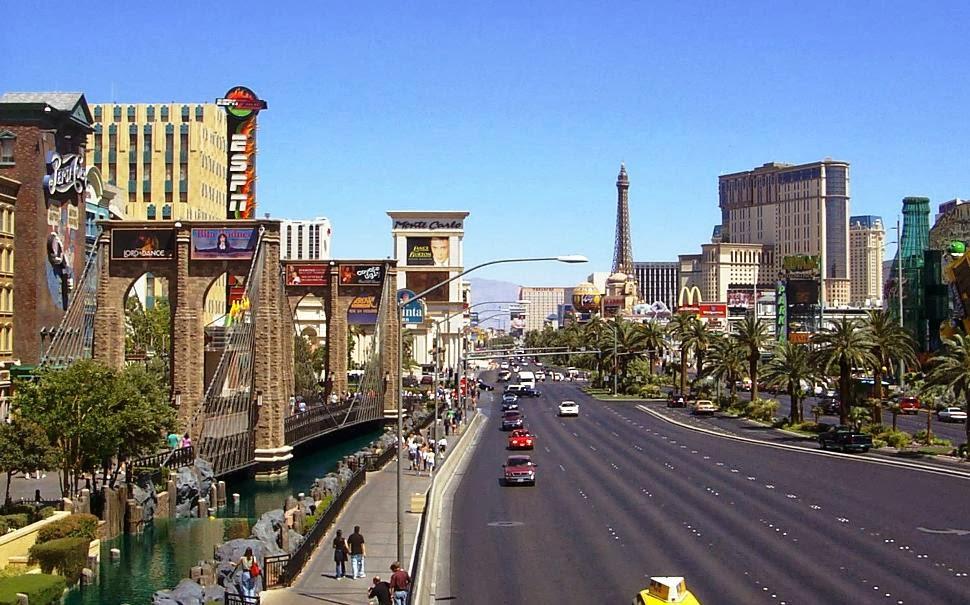 Carro em Las Vegas