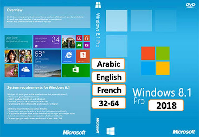 Windows 8.1 Pro ISO Download Free Full Version 2018 Direct Links