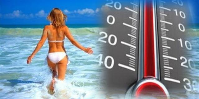 Ποδαρικό με καύσωνα ο Αύγουστος - Στους 39 βαθμούς τη Δευτέρα ο υδράργυρος