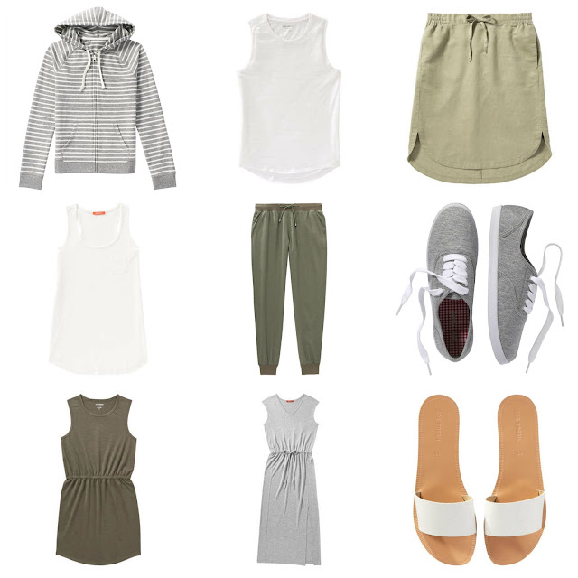Kicking it Cas' with Joe Fresh summer staples.