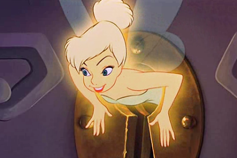 El hada Campanilla en Peter Pan - Cine de Escritor