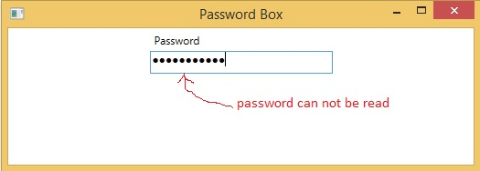Secure password using password box in WPF