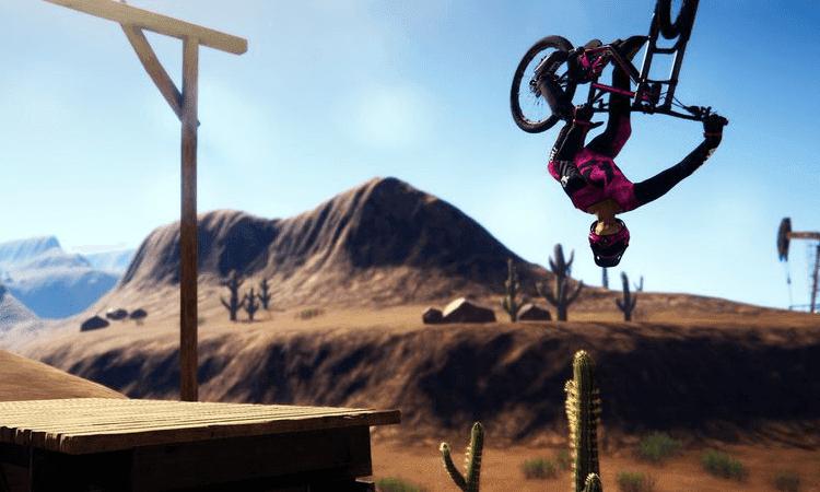 تحميل لعبة الدراجات Descenders